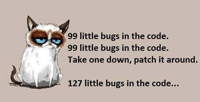 99 Little Bugs on the wall