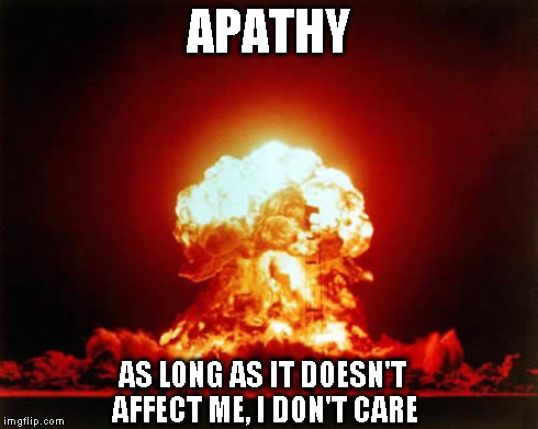 Nuclear explosion - Apathy