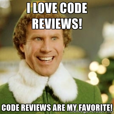 Code reviews are my favorite